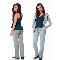 · Conjunto Deportivo Dama Pants Y Chamarra Varios Colores