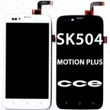 Tela Touch Display Lcd Frontal Cce Motion Plus Sk504