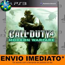 Call Of Duty 4 Modern Warfare - Ps3 - Cód Psn - Envio Agora