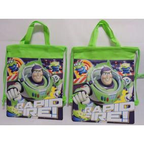 Dulceros Buzz Toy Story Fiestas Recuerdos Regalos 10 Pz Verd