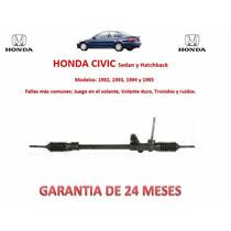 Caja Direccion Mecanica Cremallera Honda Civic 92-95 Au1