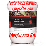 Creme De Massagem Pimenta Negra 650g - D´agua Natural