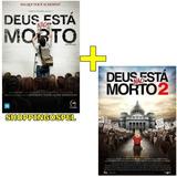Kit Dvds Deus Não Está Morto + Dvd Deus Não Está Morto 2