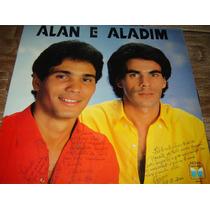 Disco Vinil Raro - Alan E Aladim - Anos 80