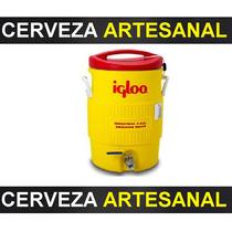 Macerador Hielera Cerveza Artesanal 5 Gal Igloo O Rubbermaid
