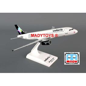 Avión Airbus A320 Volaris Xa-von Sky Marks Skr663 Escala 150