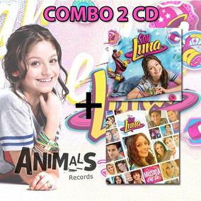 Pack Cd Soy Luna + Musica En Ti 2 Cd Nuevo Cerrados Origina