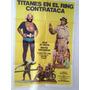 Afiche De Cine - Titanes En El Ring Contrataca