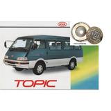 Kit Embreagem Asia Motors Topic 94 05 96 97 98 Em Diante Rec