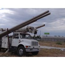 2001 Camion Barrena ,cargar 5 Postes,a/c,optimas Condiciones