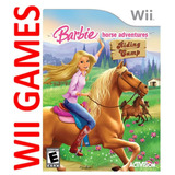 Juego Barbie Horse Adventures Riding Camp - Original Wii -ig