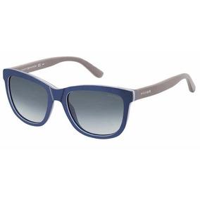 8f22ac915011a Óculos De Sol Tommy Hilfiger Cor Principal Azul Escuro no Mercado ...