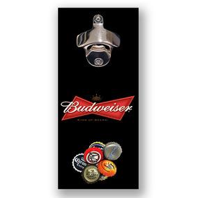 Abridor Garrafa Magnético Parede Ímã Cerveja Bud Budweiser