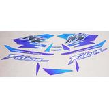 Kit Adesivos Honda Nx4 Falcon 2000 Azul
