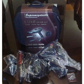 Secador Supermegaturbo + Kit 24000 Rpm