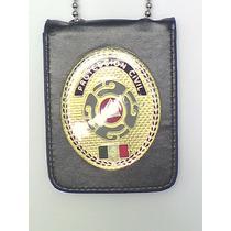 Placa De Proteccion Civil Tipo Policia Federal