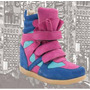 Zapatillas Sneakers 100% Cuero Vacuno!! 2013 Taco Oculto!!