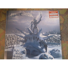 Helloween My God Given Right Earbook