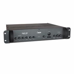 Amplificador De Som Ambiente Profissional Pwm70v2ch Gongo