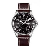 Hamilton Kaki Piloto Reloj Para Hombre H64715535