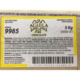 Chocolate Taza Aguila 9985 Tableteado Semiamargo X 5 Kg.