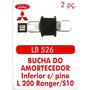 Bucha Amortecedor Inferior L-200/ Ranger/ S-10, 04 Peças
