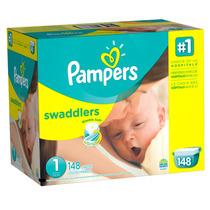 Pampers Swaddlers Etapa 1 (4-6 Kg) - 148 Piezas