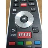 Control Remoto Para Led Smart Tv Bgh Tecla Netflix Y 3d