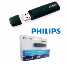 Adaptador Wireless Usb Philips Pta 127 - Smart Tv - Wi Fi