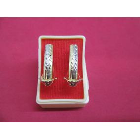 Aretes Florentino Oro Solido 10 Kilates Mod. 6