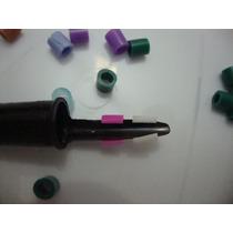 Pct. 20 Anilhas Abertas 3.0mm Para Mandarim, Coleiro E Curió