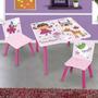 Set Infantil Mesa 60x60x44 + 2 Sillas 27x27 Jacinta