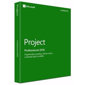 Licencia Project Professional 2016 32/64 Bit Original - 1 Pc