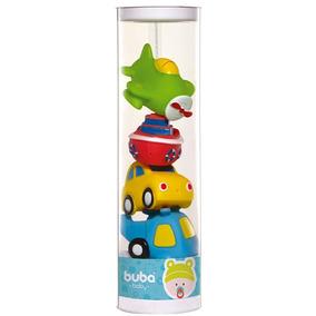 Brinquedo Bichinhos Para Banho Transportes - Buba Toys