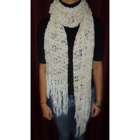 Pashmina De Hilo Verano Crochet Promo Hot Sale