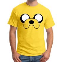 Camiseta Jake Personalizada Hora De Aventura Cartoon Finn