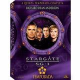 Box Stargate Sg 1 5ª Temporada Completa Lacrado 5 Discos ##