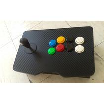 Control Ps4 Pc Wireless Jostick Arcade + Emulador Pc