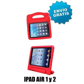 Funda De Silicon Semirigida Ipad Air 1 O 2 Con Envio Gratis