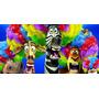 Painel Decorativo Festa Filme Madagascar [2x1m] (mod2)