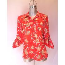 Bluson Casual Satinado (blusa De Dama, Camisa De Mujer, Ropa