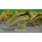 Trofeo Botin Dorado 17cm Altura