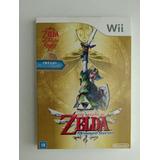 Zelda Skyward Sword Wii C Luva Novo Lacrado Fábrica Original