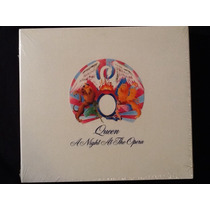 Cd + Dvd Queen A Night At The Opera Original Lacrado.