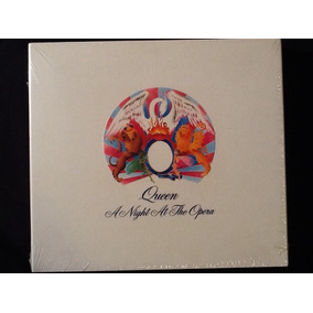 Cd + Dvd Queen A Night At The Opera Original Lacrado.