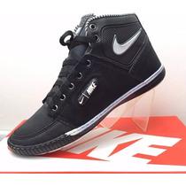 Promoção! Tênis Bota Nike Cano Longo Na Caixa 36/43 Mtf002!