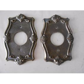 Espelho De Bronze Para Tomada Montalto Redondo Cada 30,00