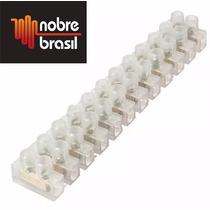 Conector Elétrico Tipo Sindal Barra Com 12 Bornes 2,5mm