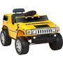 Juguete Hummer 6v Con Pilas Jeep Color Amarillo