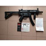 Ametralladora Umarex H&k Mp5 K-pdw Semiautomatica Co2